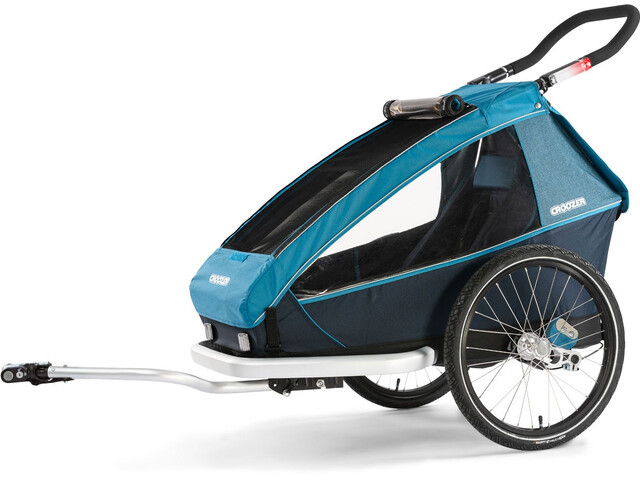 Croozer Kid Plus For 1 Kinderanhänger ozeanblau